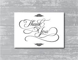 Wedding Signs Template 8 Best Images Of Thank You Printable Poster Printable Thank You
