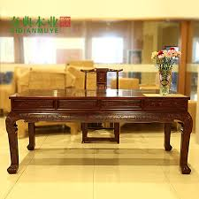 Mahogany Office Furniture by Zuozhi Painting Carved Table Chinese Writing Desk Mahogany Office