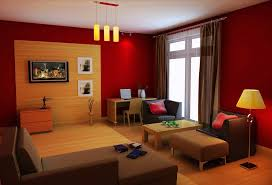 Bright Small Living Room With Alluring Orange Living Room Design - Orange living room design
