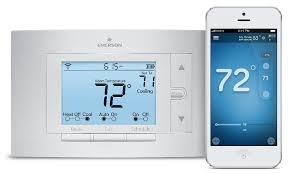black friday wifi thermostat emerson sensi wi fi thermostat 1f86u 42wf for smart home works
