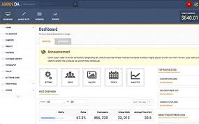 30 premium admin backend dashboard templates