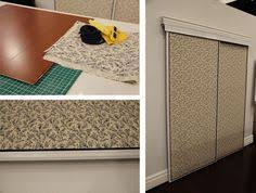 How To Fix Closet Doors Easy Way To Fix Closet Doors Cover With Fabric What A