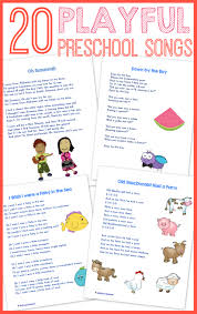 pre k thanksgiving songs 20 best preschool songs free printable wildflower ramblings