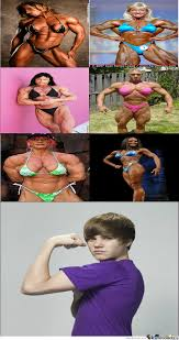 Muscle Woman Meme - just some women with muscles by troller123321 meme center