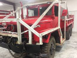 jeep brush truck 1966 red diamond kaiser jeep 6x6 wildland unit used truck details