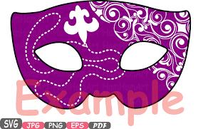 mardi gras masquerade props mask mardi gras masquerade party photo booth silhouette