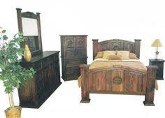 Rustic King Bedroom Sets - dark rustic bedroom set western king queen rustic bedroom