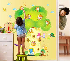 Kids Room Wall Stickers by Diy Animal House Tree Wall Stickers Kids Room Decor Bedroom Wall