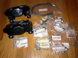 lexus is300 rear brakes ca supra tt twin turbo rear brakes w everything shim kit etc