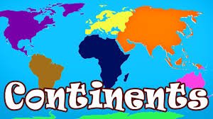 World Map Of Continents And Oceans To Label by 2nd Grade Continents And Oceans Lessons Tes Teach