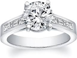 channel set engagement rings flyerfit baguette channel set engagement ring 5198sbe