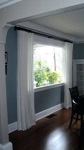 Curtain Crown Molding Ikea Curtains Living Room Like The Paint Color Crown Molding