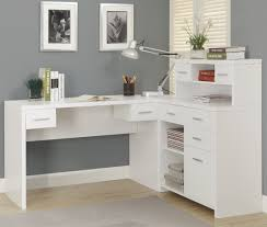 White Corner Workstation Desk White Corner Desks Desk Design Cheap White L Shaped Desk Designs