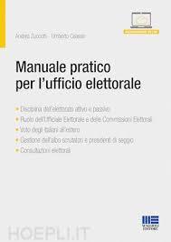maggioli editore sede manuale pratico per l ufficio elettorale zuccotti andrea