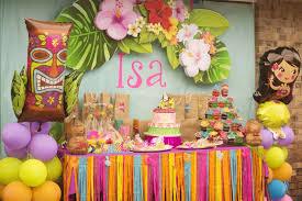 hawaiian party ideas hawaiian luau birthday party ideas photo 3 of 23 catch my party
