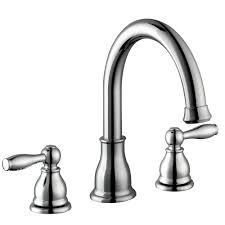 delta linden 2 handle deck mount roman tub faucet with hand shower
