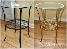 Brass Accent Table Diy Ikea Hack Brass Accent Table U2022 Miss In The Midwest