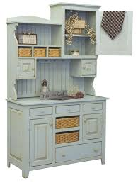 lizzie u0027s painted pine hutch from dutchcrafters amish furniture