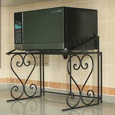 Microwave Oven Cart 2 Tier Kitchen Storage Cart Microwave Oven Rack Utility
