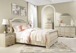 queen sleigh bedroom set ashley catalina white sleigh bedroom set b196