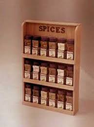 Spice Rack Plans Bench Wood Look Free Woodworking Plans For A Spice Rack