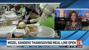 mozel sanders meal phone line is open