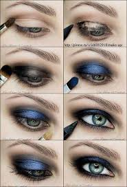 smoky blue eye makeup tutorial smoky blue eye makeuptutorial