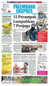 palembang ekspres kamis 8 desember 2016 by palembang ekspres issuu