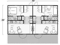 Shipping Container Home Floor Plan Two Bedroom One Bath Shipping Container Home Floor Plan Using 2