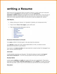how to fill a resume with no experience no work experience cover letter choice image cover letter sample
