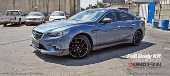 mazda mitsubishi mazda 6 2014 custom project unlimited