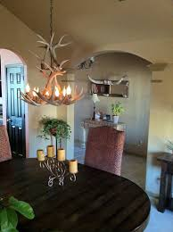 Cascading Chandelier by Small Med Chandeliers Antler Chandelier
