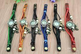 beaded bracelet watches images Vintage ladies watch owl pendant item hours bead bracelet watches jpg