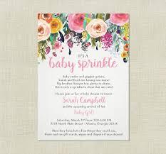 sprinkle baby shower best 25 ba sprinkle invitations ideas on sprinkle