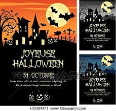 imagenes feliz octubre clipart francés feliz halloween 31th octubre k30384471