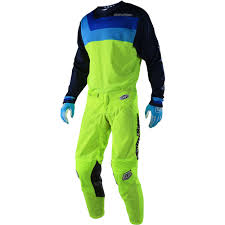 childrens motocross gear new troy lee designs 2018 youth gp air prisma flo yellow kids