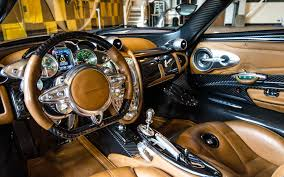 pagani huayra gold pagani huayra interior hd wallpaper hd latest wallpapers