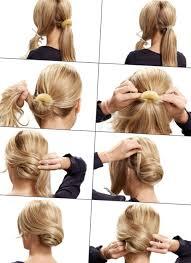Hochsteckfrisurenen Mittellange Haare Selbstgemacht by Festliche Frisur Selber Machen Http Stylehaare Info 208
