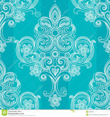 vector seamless pattern in victorian style stock image image