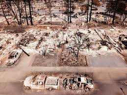 where the fires in northern california came from and what lies