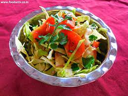 onion u0026 cabbage salad recipe indian gujarati cooking every day