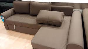 Ikea Com Sofa by Furniture Beige Sectional Ikea Sofa Bed With Beige Ottoman On
