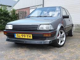 toyota starlet 1987 toyota starlet 1 0 sxl st205 brakes retro rides
