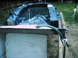 diy backyard water slide 5 steps