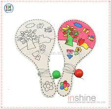 diy wooden paddle ball wood craft paddle ball sport toys diy kids