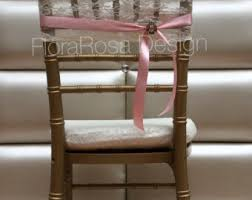 Vintage Wedding Chair Sashes Lace Chair Sash Etsy