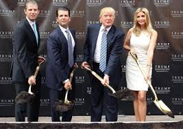 The Trump Family by Eric Trump Donald Trump Jr Donald Trump And Ivanka Trump In