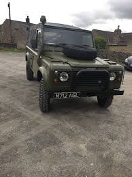 military land rover 110 ex military landrover defender 110 ffr 2 5 na 1995 in settle