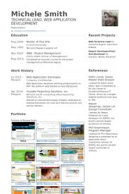 Developer Resume Examples by Web Application Developer Resume Samples Visualcv Resume Samples