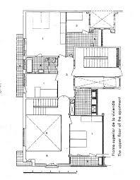 Housing Plan Housing Pilon Upper Plan Duplex Bevk Perovic Arhitekti